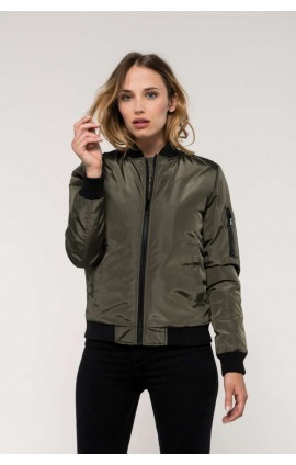 KA6123 LADIES' BOMBER JACKET