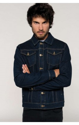KA6136 MEN'S UNLINED DENIM JACKET