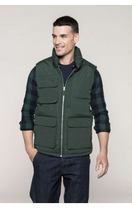 KA615 QUILTED BODYWARMER