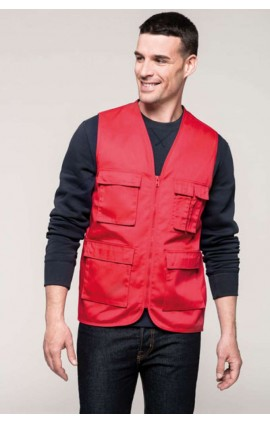 KA624 MULTIPOCKET GILET KARIBAN