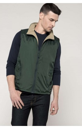KA679 RECORD - FLEECE LINED BODYWARMER