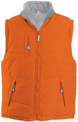 KA681 ALASKA - QUILTED FLEECE LINED BODYWARMER