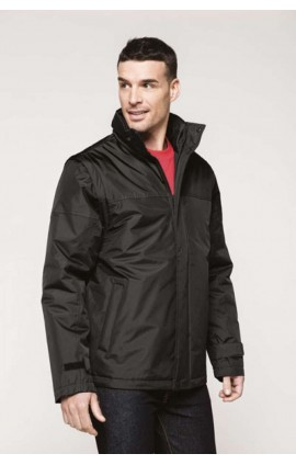 KA693 FACTORY - DETACHABLE SLEEVE BLOUSON JACKET