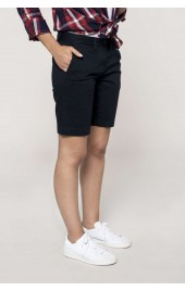 KA751 LADIES' CHINO BERMUDA SHORTS