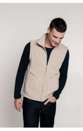 KA913 LUCA - ZIP THROUGH MICRO FLEECE GILET