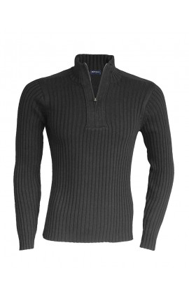 KA943 PACO - MEN'S ZIP NECK JUMPER