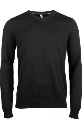 KA978 MEN'S V-NECK JUMPER