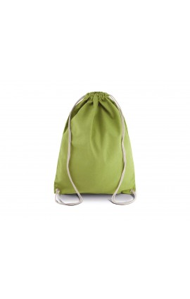 KI0125 COTTON DRAWSTRING BACKPACK