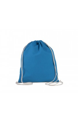 KI0147 ORGANIC COTTON SMALL DRAWSTING BACKPACK