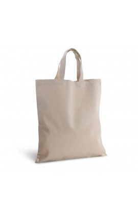 KI0249 COTTON CANVAS SHOPPING BAG