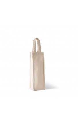 KI0269 COTTON CANVAS BOTTLE BAG