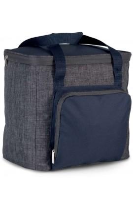 KI0347 COOL BAG WITH ZIPPED POCKET