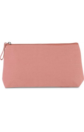 KI0728 COTTON CANVAS TOILETRY BAG