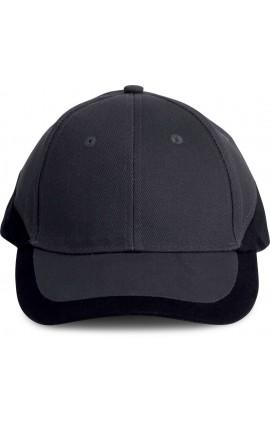 KP045 RACING - BI-COLOUR 6 PANEL CAP