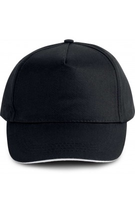 KP130 SANDWICH PEAK CAP - 5 PANELS