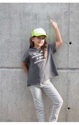 KP143 KIDS' TRUCKER MESH CAP - 5 PANELS