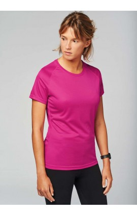 PA439 LADIES' SHORT SLEEVE SPORTS T-SHIRT