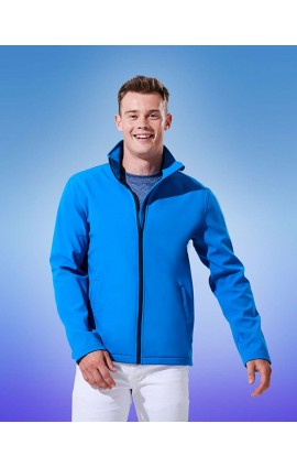 RETRA628 ABLAZE MEN'S PRINTABLE SOFTSHELL