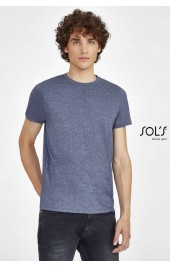 SO01182 MIXED MEN ROUND COLLAR T-SHIRT