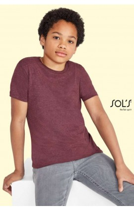 SO01183 REGENT FIT KIDS ROUND COLLAR T-SHIRT