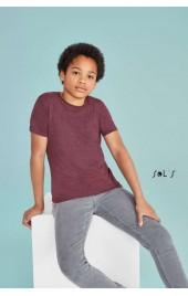 SO01183 REGENT FIT KIDS ROUND COLLAR T-SHIRT