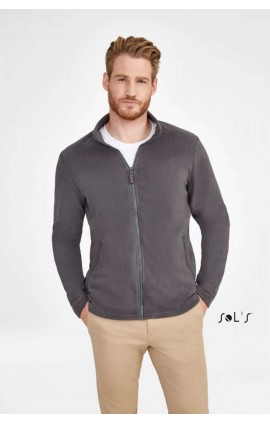 SO02093 NORMAN - MEN'S PLAIN FLEECE JACKET