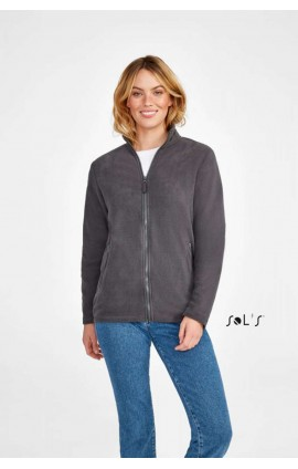 SO02094 NORMAN - WOMEN'S PLAIN FLEECE JACKET