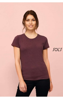 SO02758 REGENT FIT WOMEN - ROUND NECK FITTED T-SHIRT
