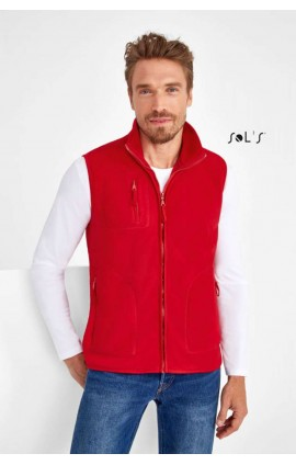 SO51000 NORWAY UNISEX SLEEVELESS FLEECE CARDIGAN