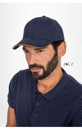 SO88100 BUFFALO SIX PANELS CAP