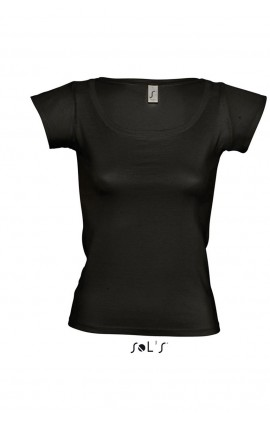 SO11385 MELROSE WOMEN'S CAP SLEEVE T-SHIRT
